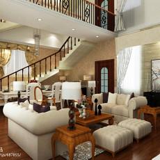 精选126平米欧式复式客厅欣赏图片大全