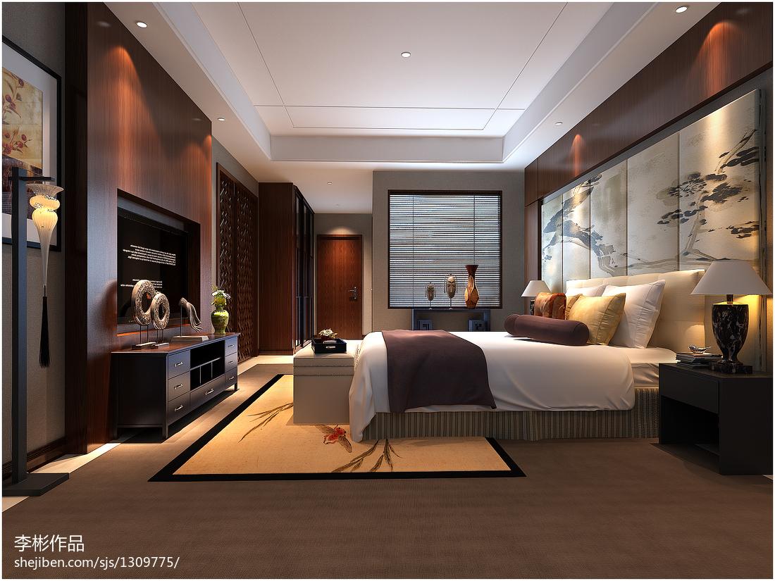 北欧风格公寓卧室装饰效果图片