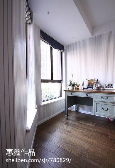 现代美式卧室 效果图