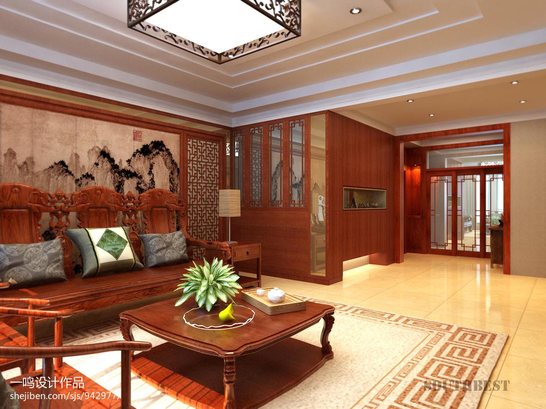 木沙发效果图图片欣赏