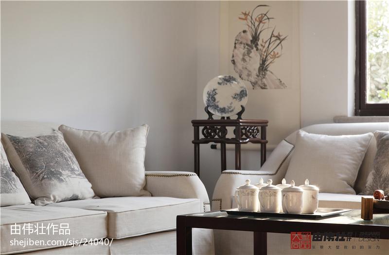 中式客厅欣赏图片