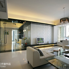 热门面积122平现代四居客厅装修效果图片大全