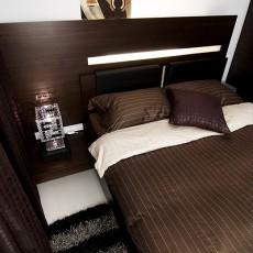 热门103平米三居卧室现代效果图片