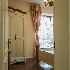 精美面积133平复式卧室美式设计效果图