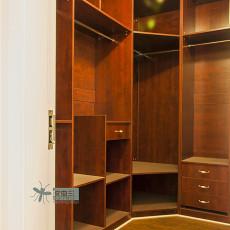 精选面积140平复式书房美式实景图片欣赏