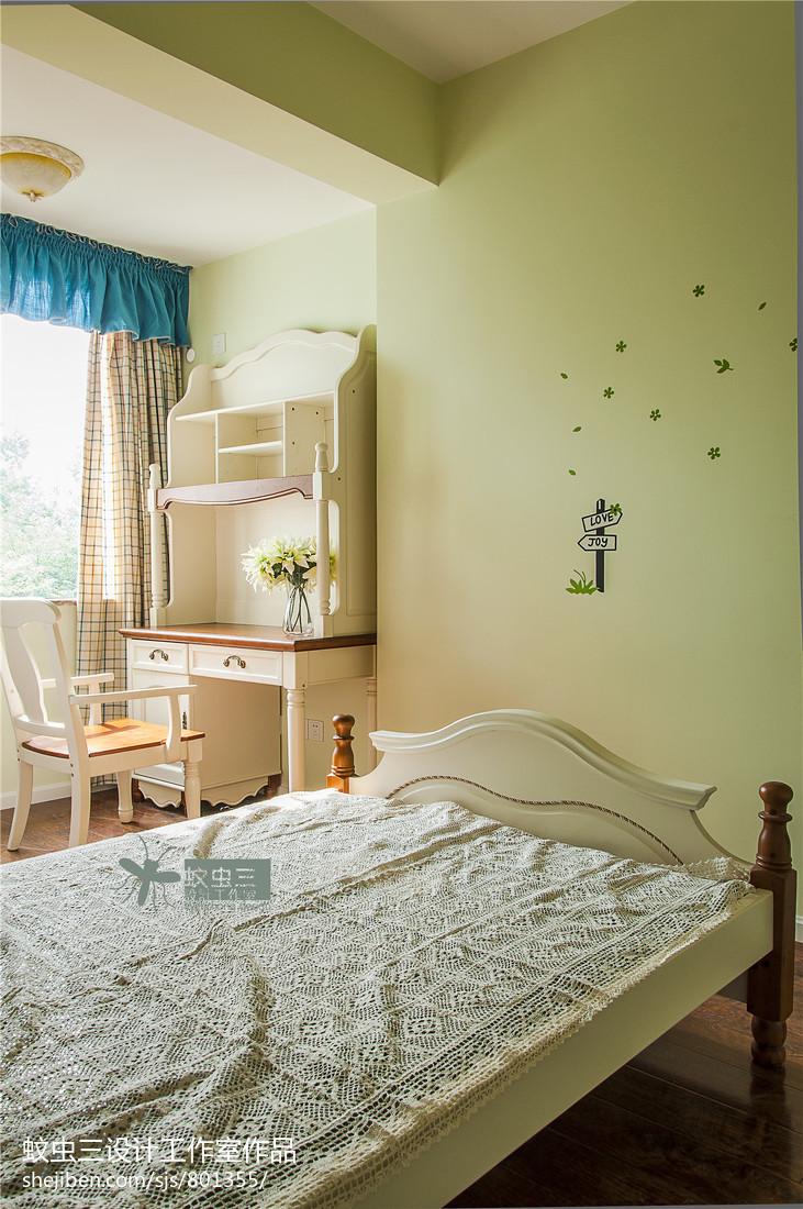 精美美式复式儿童房装修设计效果图片欣赏