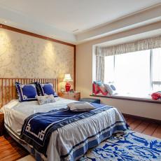 精选中式二居卧室欣赏图