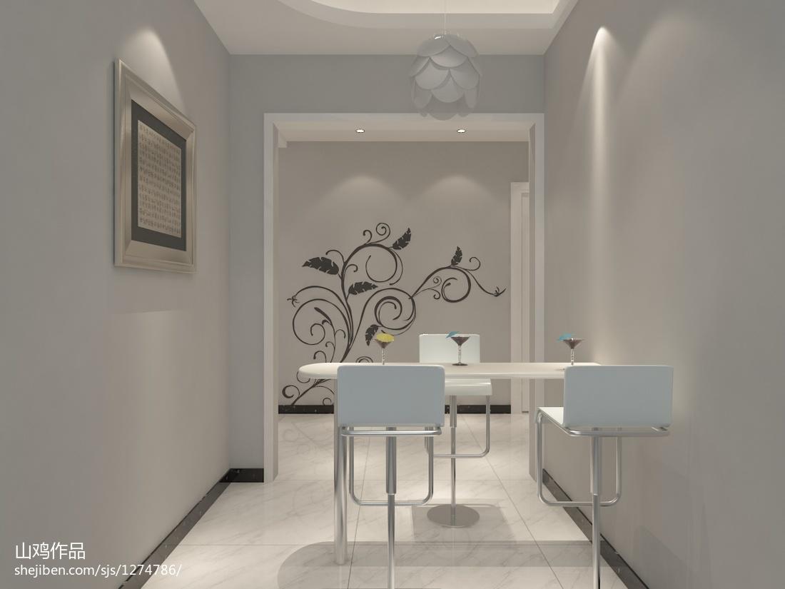 现代时尚乡村风格三室装修设计图片