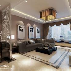 精美80平米二居客厅现代实景图片欣赏