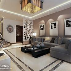 热门80平米二居客厅现代装饰图片大全