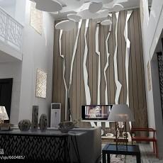 豪华别墅时尚客厅装修效果图
