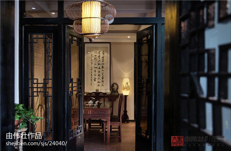 热门中式玄关装饰图片
