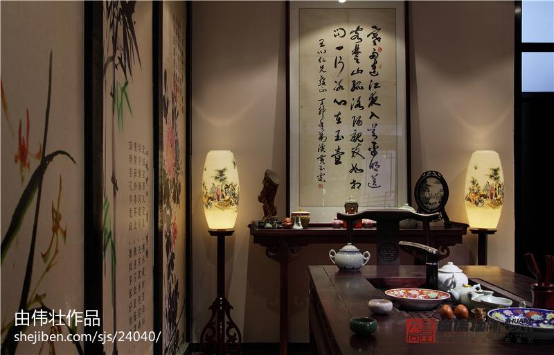 精美餐厅中式欣赏图
