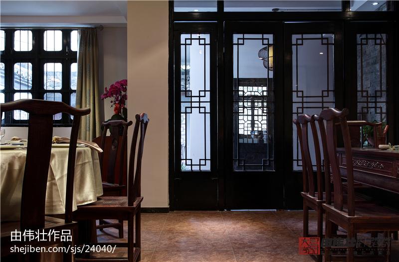 精美中式餐厅装修图片欣赏
