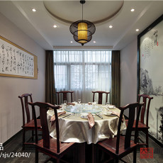 精美餐厅中式装修设计效果图