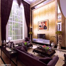 热门137平方欧式别墅客厅效果图片欣赏