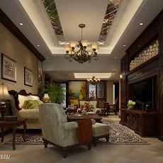 精美大小101平新古典三居客厅装修设计效果图片大全