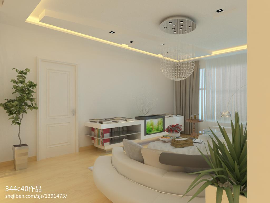 清新素雅北欧风格卧室装修效果图
