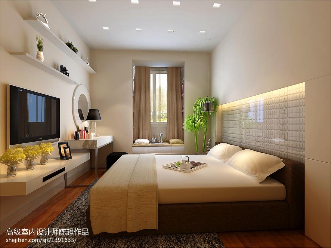 201890平米二居卧室现代装修欣赏图片