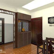 新中式餐厅装修效果图图片