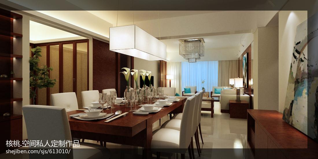 现代风格二居餐厅吊顶装修图片