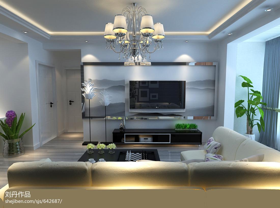 LOFT风格家居客厅装修效果图