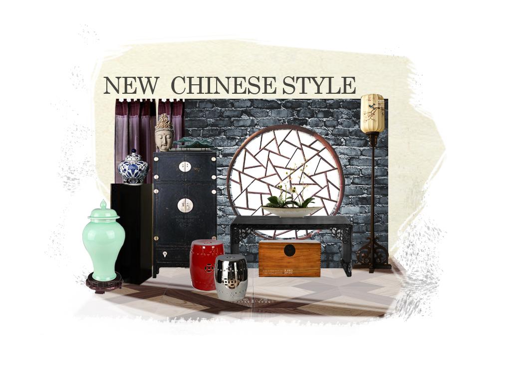 美式风格床头背景墙设计