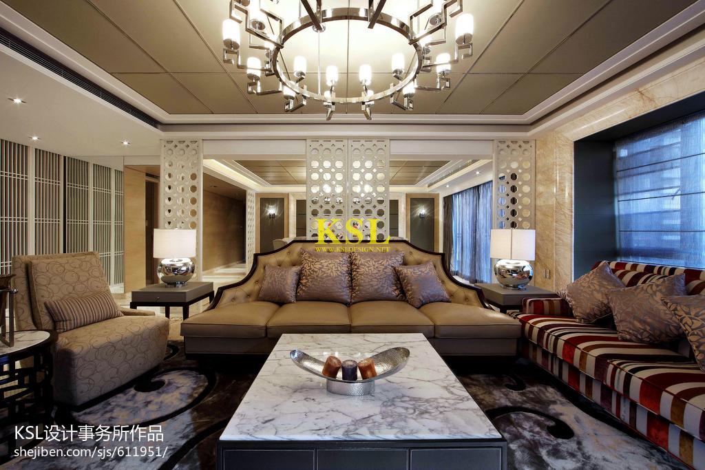精选客厅中式装修实景图