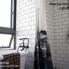 2018精选144平米混搭复式卫生间装饰图片