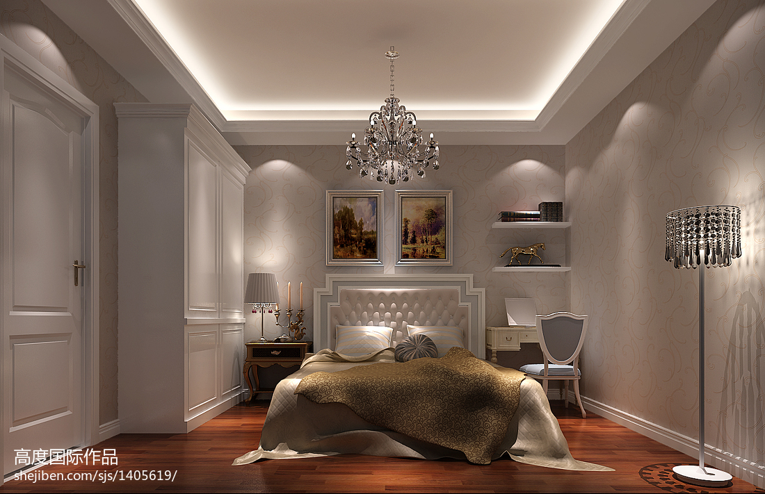 家庭装饰设计卧室衣柜效果图