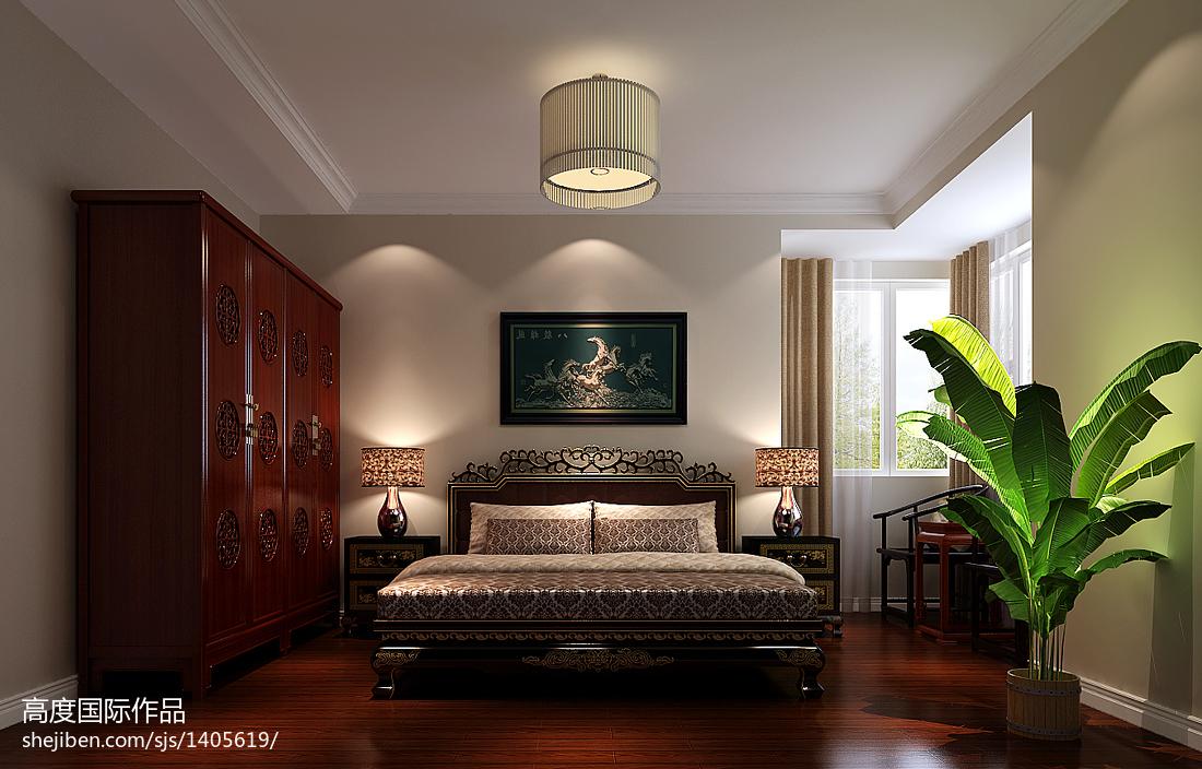 美式风格小卧室效果图欣赏大全