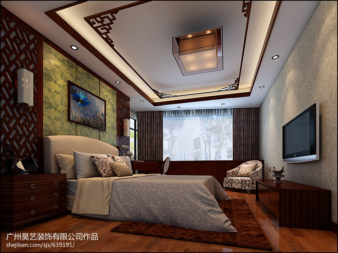 现代家装设计室内三室两厅图欣赏大全