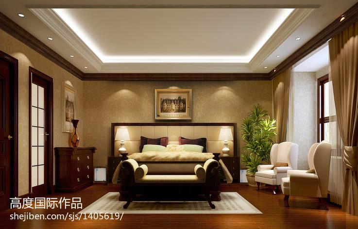 美式客厅电视机背景墙