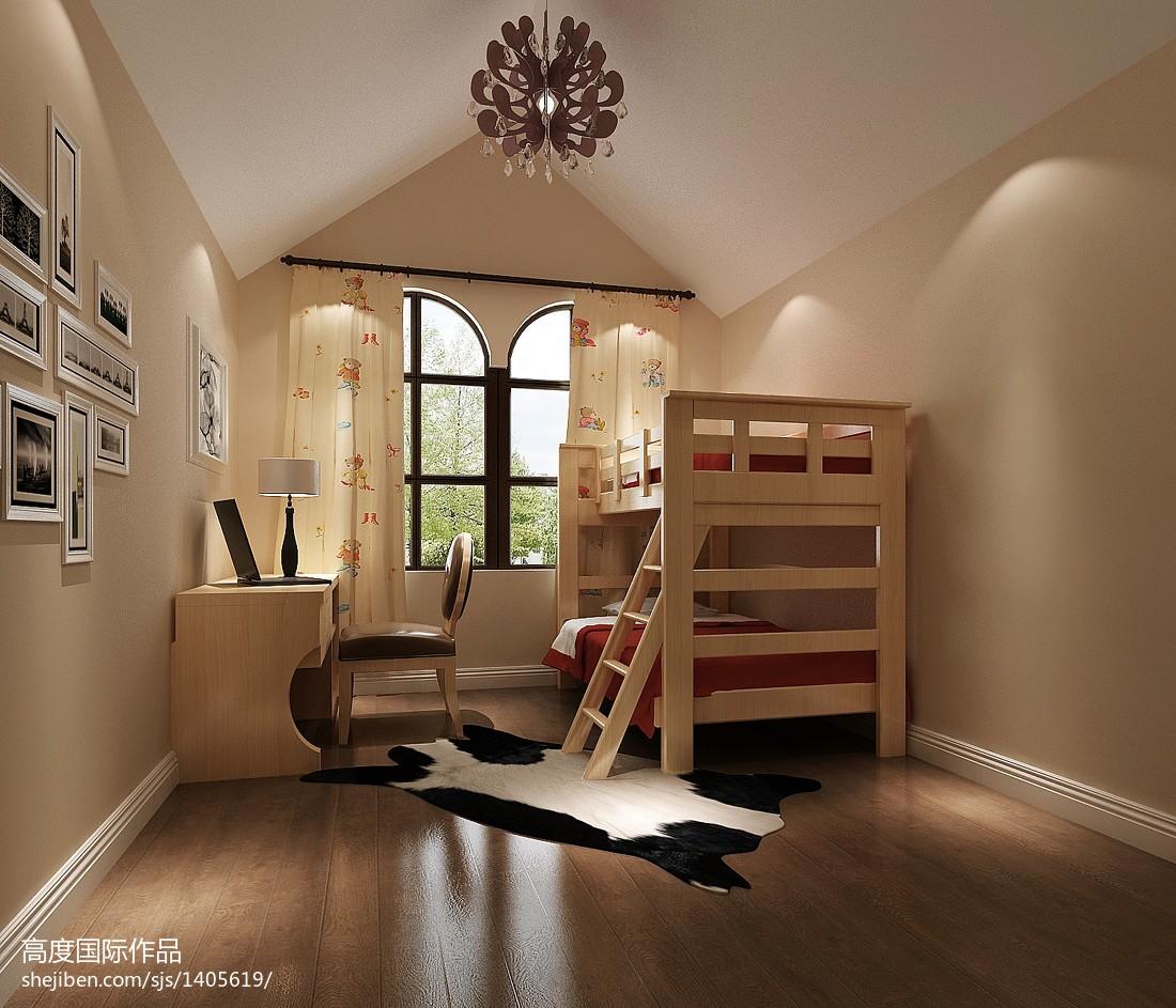 热门现代复式儿童房装修效果图片