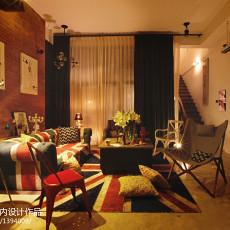 精选大小121平别墅客厅欧式装修效果图片