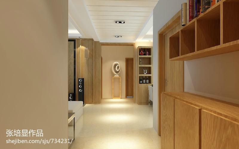 美式装修四居客厅电视背景墙效果图