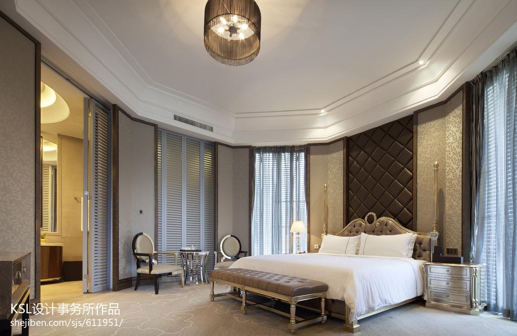 精美面积141平别墅卧室欧式装修欣赏图