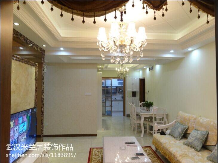 新中式餐厅装修案例