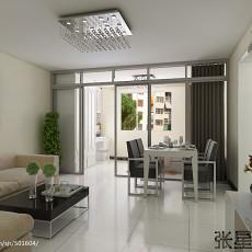精美面积85平小户型客厅现代装饰图片
