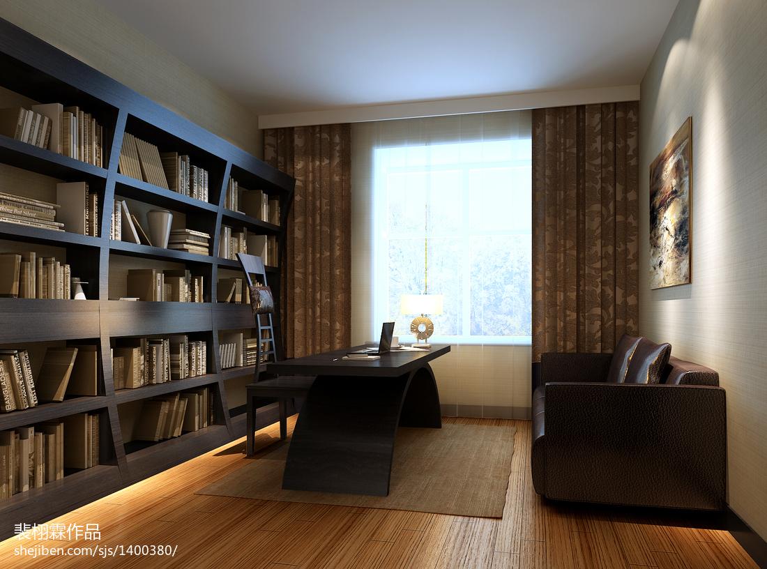 家居混搭风格书房设计