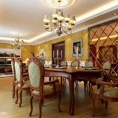 精选东南亚复式餐厅装修效果图片