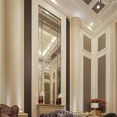 136平米新古典别墅客厅效果图片欣赏