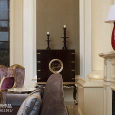 2018面积118平别墅客厅新古典装修实景图片大全
