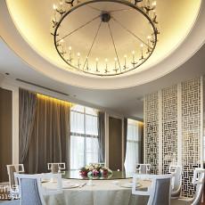 热门面积142平别墅餐厅新古典装修图