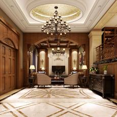 现代一居客厅实景图片