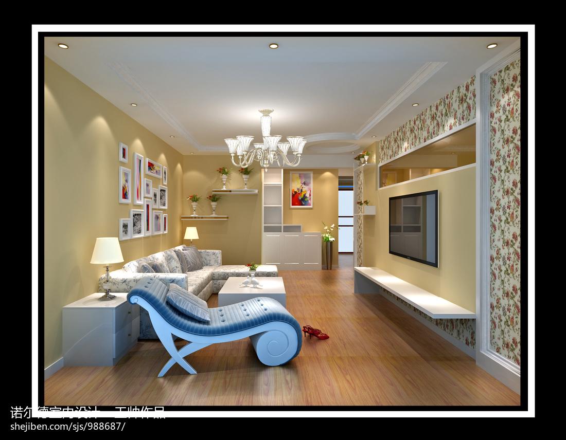 现代家装室内电视背景墙效果图2015大全