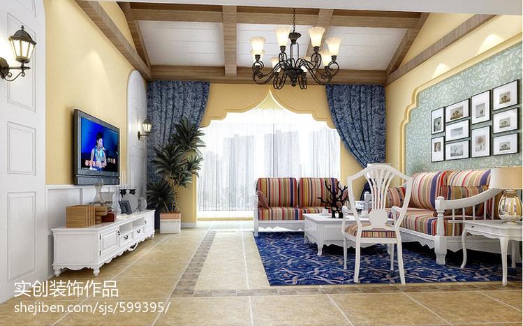 现代简约电视背景墙室内设计图片