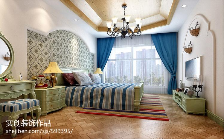 现代简约一居卧室设计图片