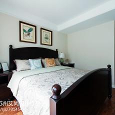热门102平米三居卧室美式设计效果图