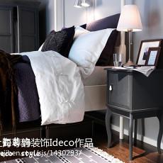 现代简约两室两厅卧室装修风格